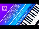 Краткий курс музыкальной теории - Создание мелодии и аккомпанемента (урок 7).
