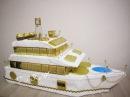 Яхта из конфет Подробный мастер класс Шикарный подарок на 23 февраля день рождения