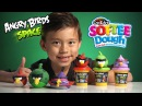 Angry Birds Space SOFTEE DOUGH Epic SQUASH and Angry FRUITS