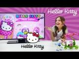 Приложение Хелло Китти. Играем вместе с подружкой Машей. Видео для девочек.