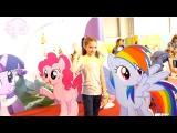 Май литл пони - аквагрим для лучшей подружки Светы на фестивале Мультимир. Видео для девочек.