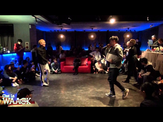 Final Battle Akuma Diva(TWN) vs MC JO(KOR) | 20131228 C'est La WAACK Vol.1