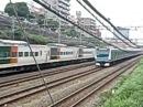 Интенсивность движения поездов в Японии Traffic trains in Japan