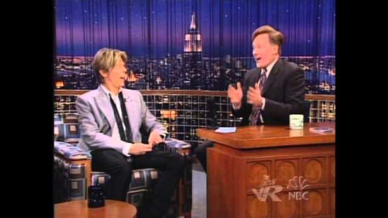 David Bowie - Late Night With Conan O'Brien 18 June 2002