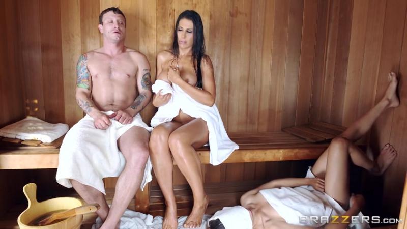 Порно жена изменила мужу в сауне, домохозяйка и хозяин