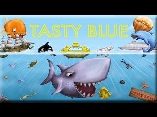 Tasty Blue - эволюция рыбки