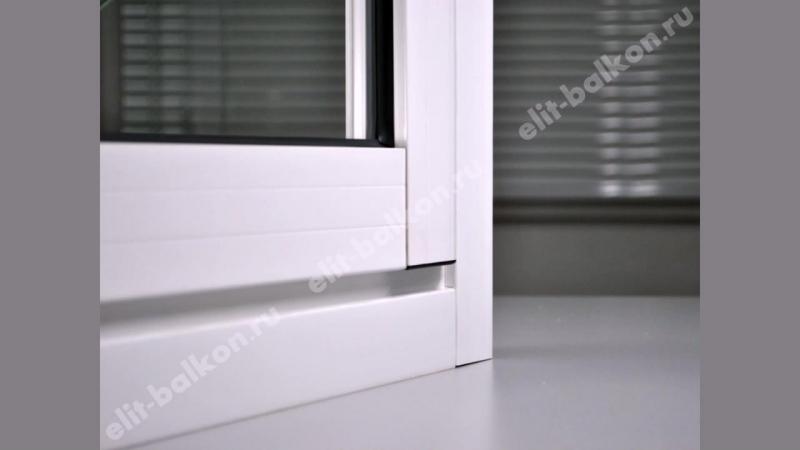 Остекление балконов слайдорс от Элит Балкон