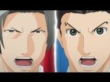 Gyakuten Saiban Sono Shinjitsu Igiari 12 серия русская озвучка Slayer Переворотный суд 12 Первоклассный адвокат vk HD