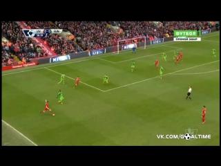 Ливерпуль - Сандерленд 2:2. Обзор матча. Англия. Премьер-лига 2015/16. 25 тур.