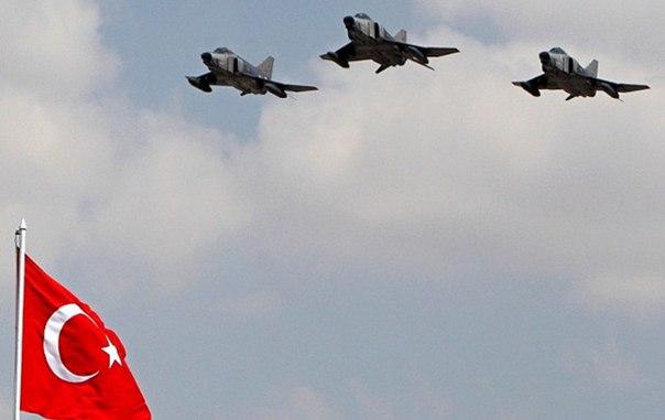 Турция привела ВВС в полную боеготовность