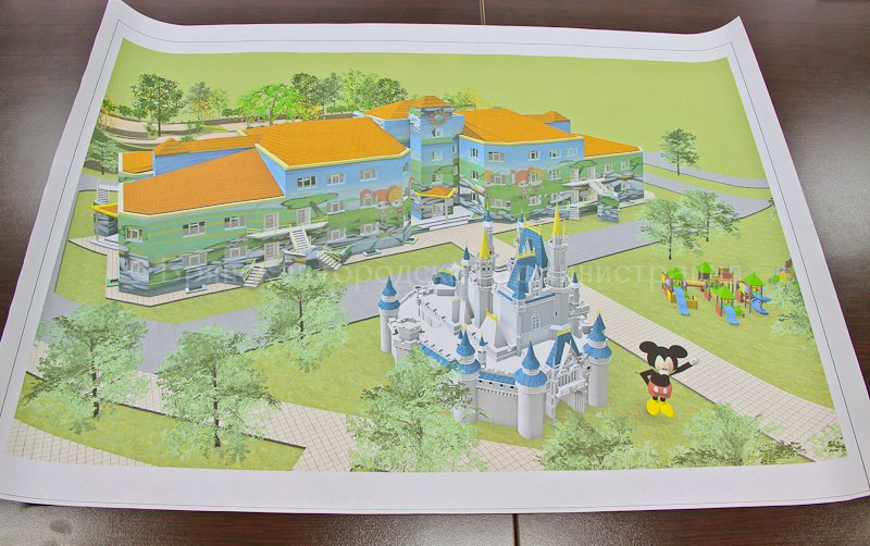 Рисунок детский сад будущего