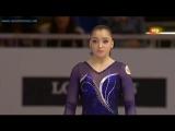 ЧЕ 2012. Командное многоборье. Алия Мустафина - опорный прыжок