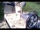 дровокол   конусный электрический самодельный
