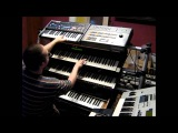 Playing italo disco live with Solton Ketron Programmer 24 and some other synths