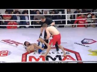 Гусейн Алиев vs Максим Шило. GEFC-AZFC MMA fighting Series 2