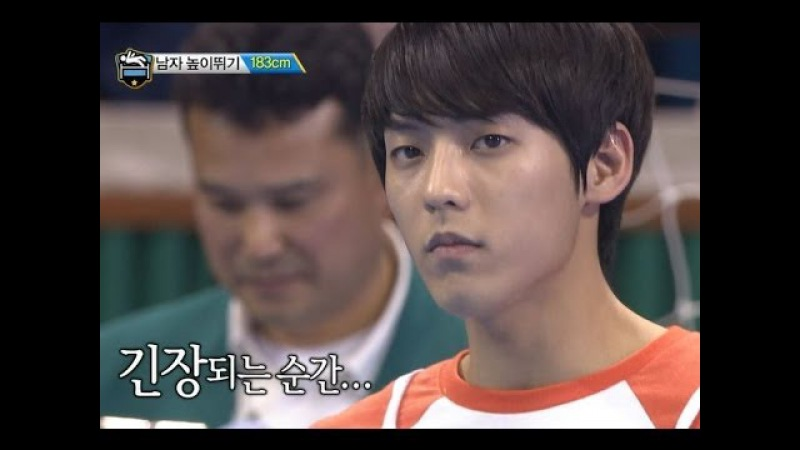 【TVPP】Minhyuk(BTOB) - M High Jump New Record, 민혁(비투비) - 높이뛰기 금메달 @ 2014 Idol Star Championships