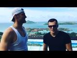 Александр Задойнов и Иван Барзиков уже на острове
