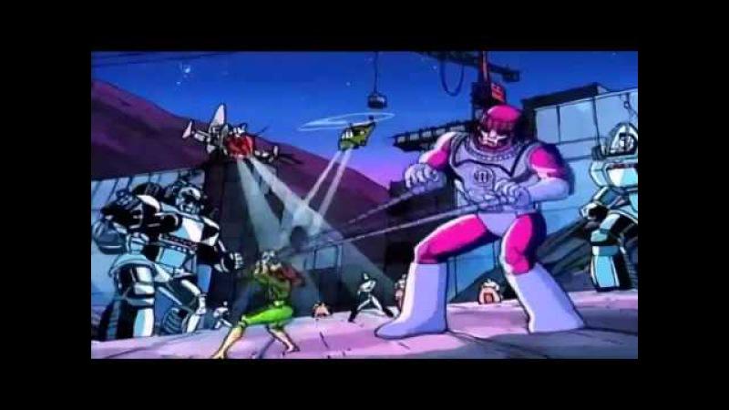 Люди Икс X Men 1992 Первая Заставка Заставки Intro Intros Opening Openings