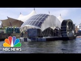 Solar-Powered Water Wheel Cleans Baltimore Harbor | NBC News solar-powered water wheel cleans baltimore harbor | nbc news