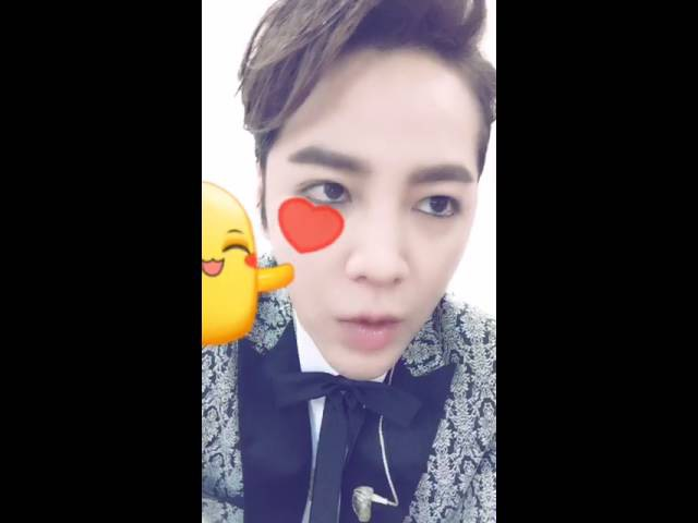 [Live] 20160828 Jang Keun suk its show time in Shanghai (before the show)