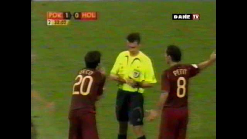 Copa do Mundo 2006 Oitavas Portugal x Holanda