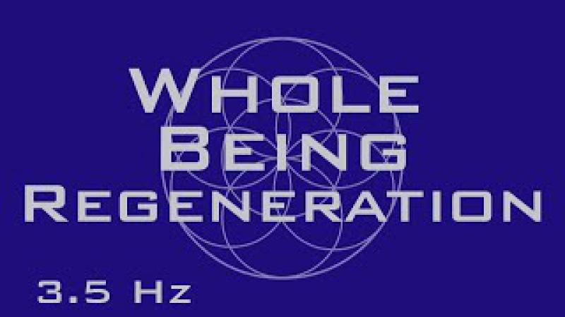 Whole Being Regeneration - Full Body Healing - 3.4 Hz 7.83 Hz - Binaural Beats - Meditation Music