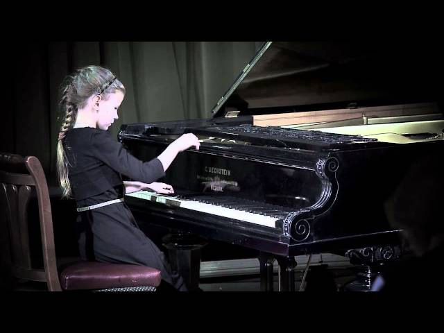 Edvard Grieg Poetic Tone Picture op 3 no 1 in e minor Vasilisa Evstigneeva 8yo