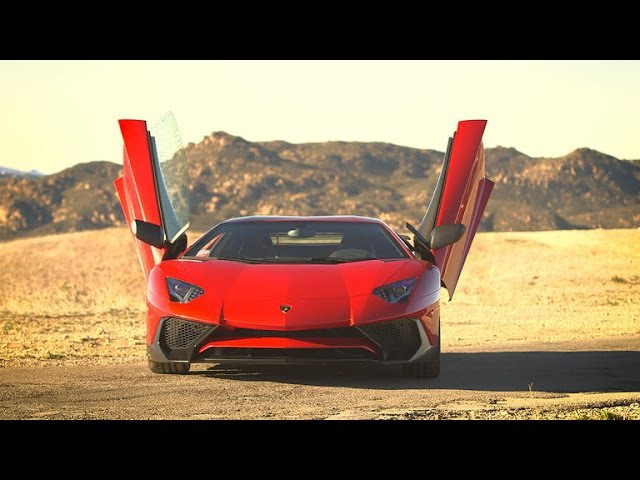Lamborghini Aventador SV: A nip, a tuck and a hell of a ride (CNET On Cars, Episode 90)