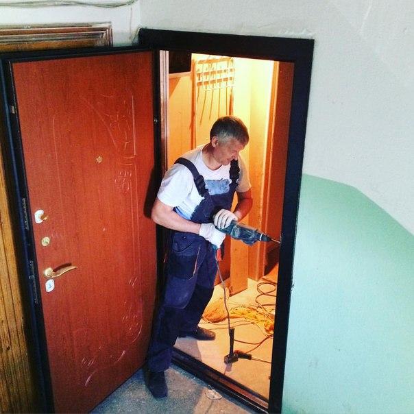 поставить железную дверь подольск