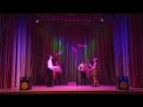Корпоративная вечеринка- Групповые жонглёры