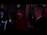 Heidi Klum в костюме Джессики Рэббит на Хэллоуин