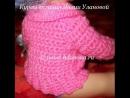 Кофточка Нежность 2 часть Crochet children's sweaters вязание полочки