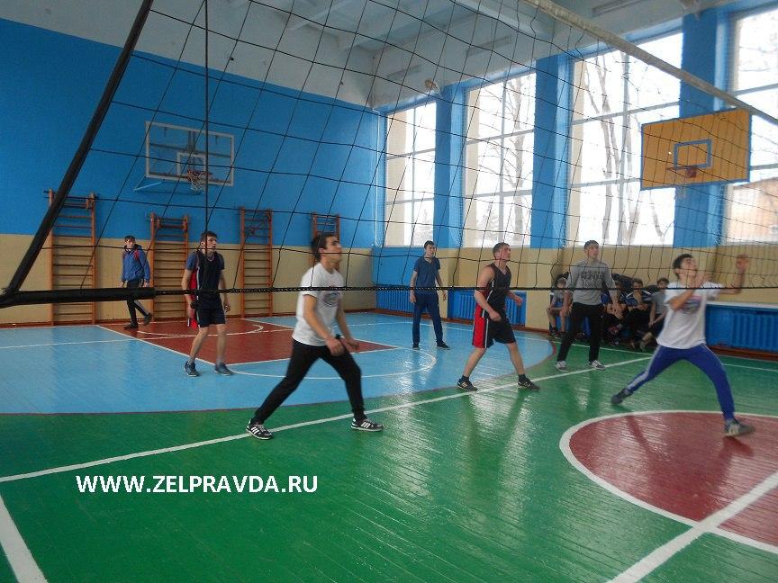 В станице Зеленчукской прошло Первенство Зеленчукского района по волейболу среди образовательных учреждений