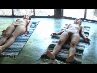 [Hegre-Art] 2009-10-27 - Anna S, Brigi, Melissa, Muriel, Suzie Carina Suzie - Nude Yoga Class [AVI][1280x720]