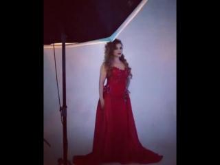 fatima_singer в платье бутика J'adore