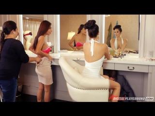 Жених выебал свидетельницу  Eva Lovia в гримёрной [Cum on Pussy, Hardcore, All Sex, Blowjob] 18+