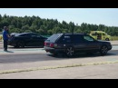 Nissan GT-R R35 vs Audi S4 C4 2.2TQ 1/4mile drag race