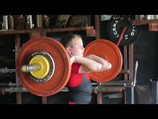 Sarah Robles / Olympic WEIGHTLIFTING gym