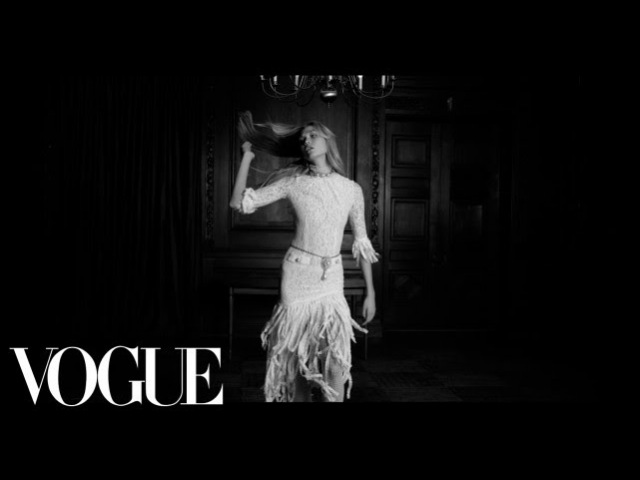 You Better Work Karlie Kloss and the Little White Dress Vogue
