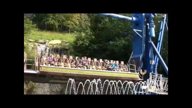 Top Spin Yukan Raft Offride Fort Fun Abenteuerland 2016