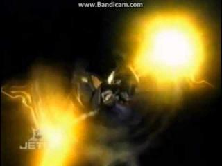Power rangers mystic force leanbow vs black lance.