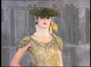 JOHN GALLIANO one of the first defilè for Maison DIOR at Versailles Haute Couture 1999 2000