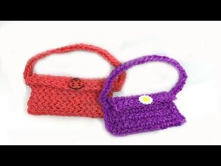 Сумка для куклы из резинок  | Браслеты из резинок | Rainbow Loom | Модная жизнь