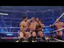 John Cena Team vs Team Nexus Bloody Match - WWE