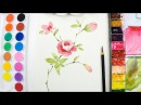 [LVL3] Flower painting tutorial - Step by step