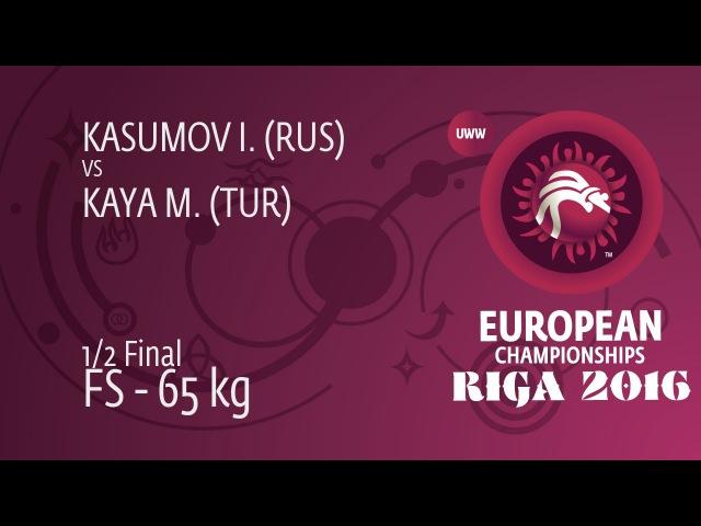 Semifinal Mustafa KAYA TUR df Israil KASUMOV RUS 8 5