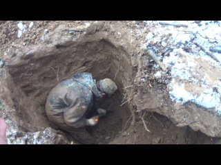 ML17 Раскопки немецкого блиндажа WW2 Dugout excavations HD SUB