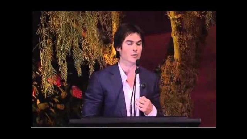 EMA Awards 2012 (Ian Somerhalder Kat Graham)