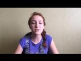 Девочка очень круто поёт песню IOWA - бьет бит (caver) круто спела, афигенный голос