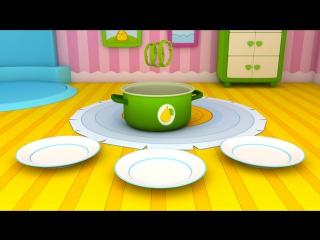Мультики для самых маленьких Умные Машинки! Овощи для детей